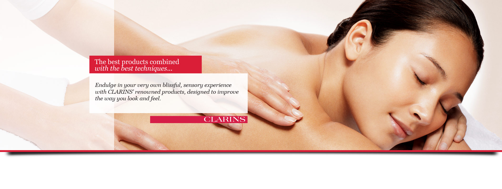 Clarins Salon Newport